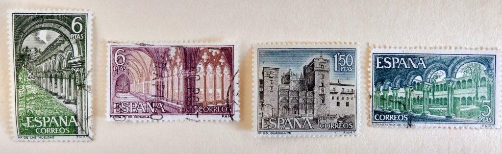 Spanish stamps