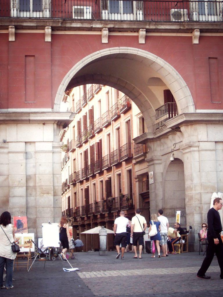 Plaza Mayor, Madrid © 2018 ruedevarenne.com