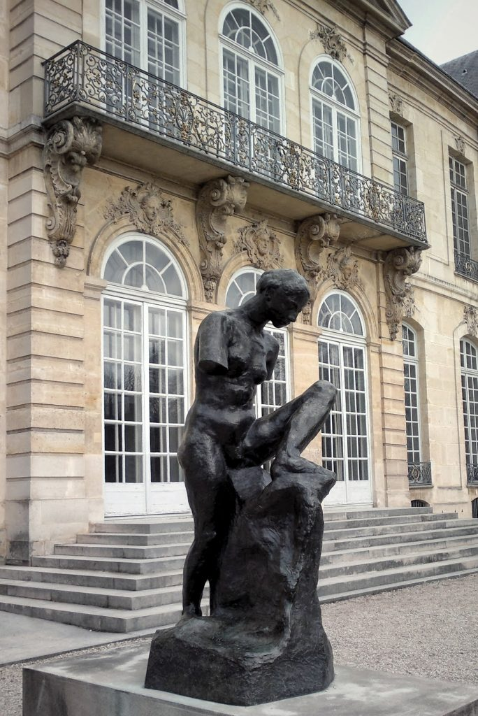 bronze sculpture woman Musee Rodin