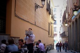 Chocolatería San Ginés, Madrid ©ruedevarenne.com