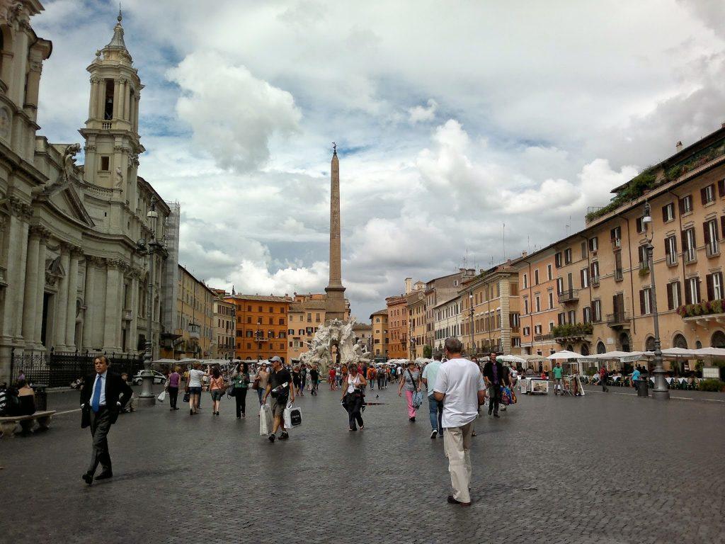 Piazza Navona, Rome ©ruedevarenne.com
