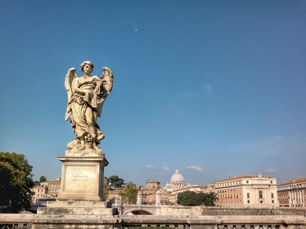 Ponte Sant'Angelo, Rome ©ruedevarenne.com