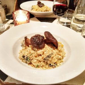 vegan gluten free risotto Paris