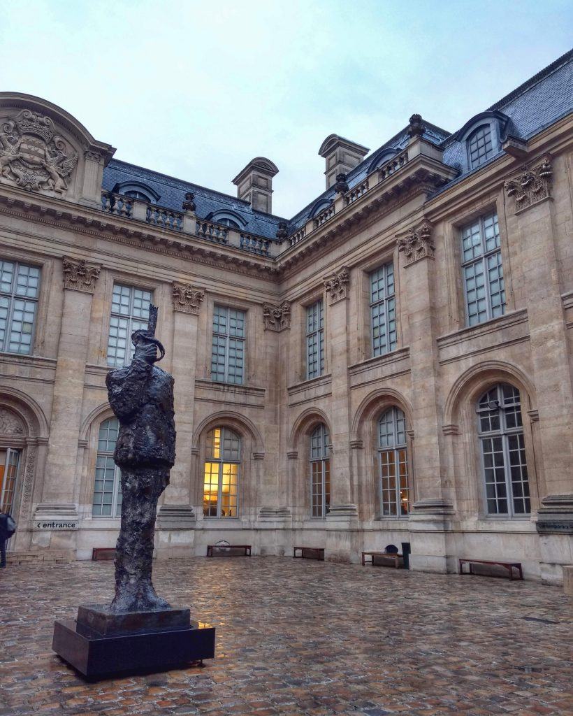 museum Jewish art and history courtyard Paris