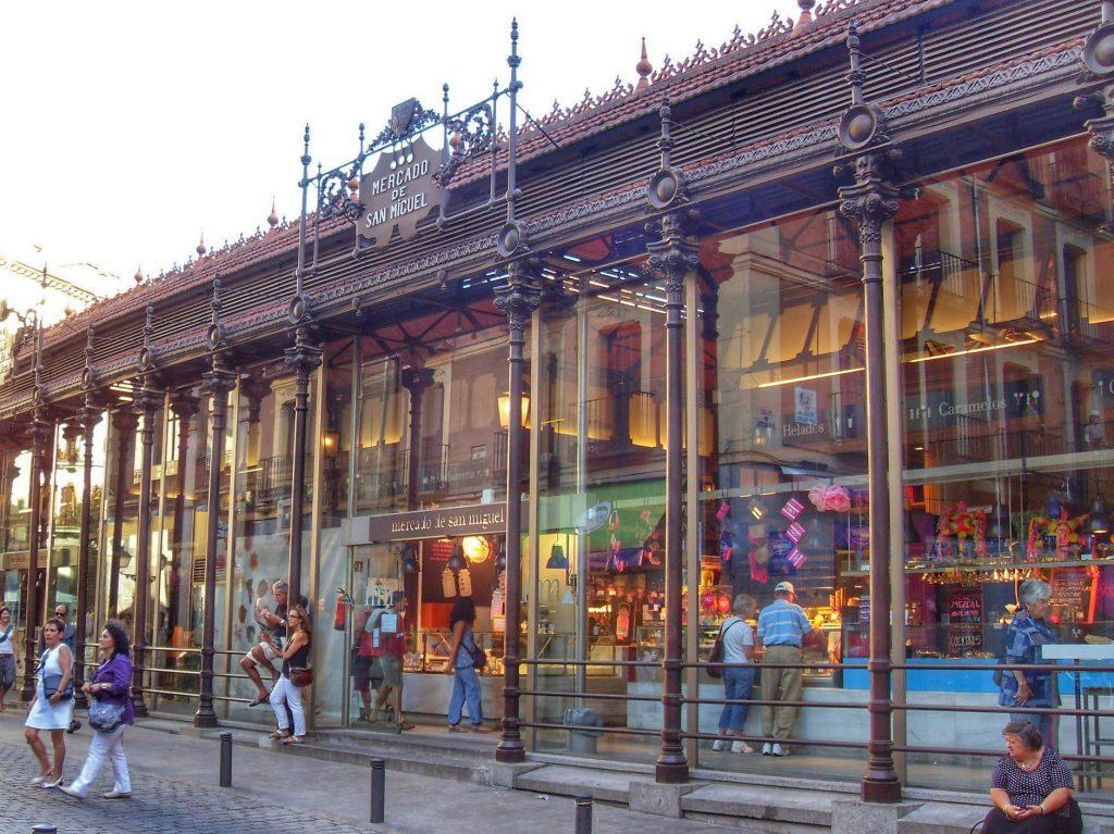 glass market Mercado de San Miguel Madrid