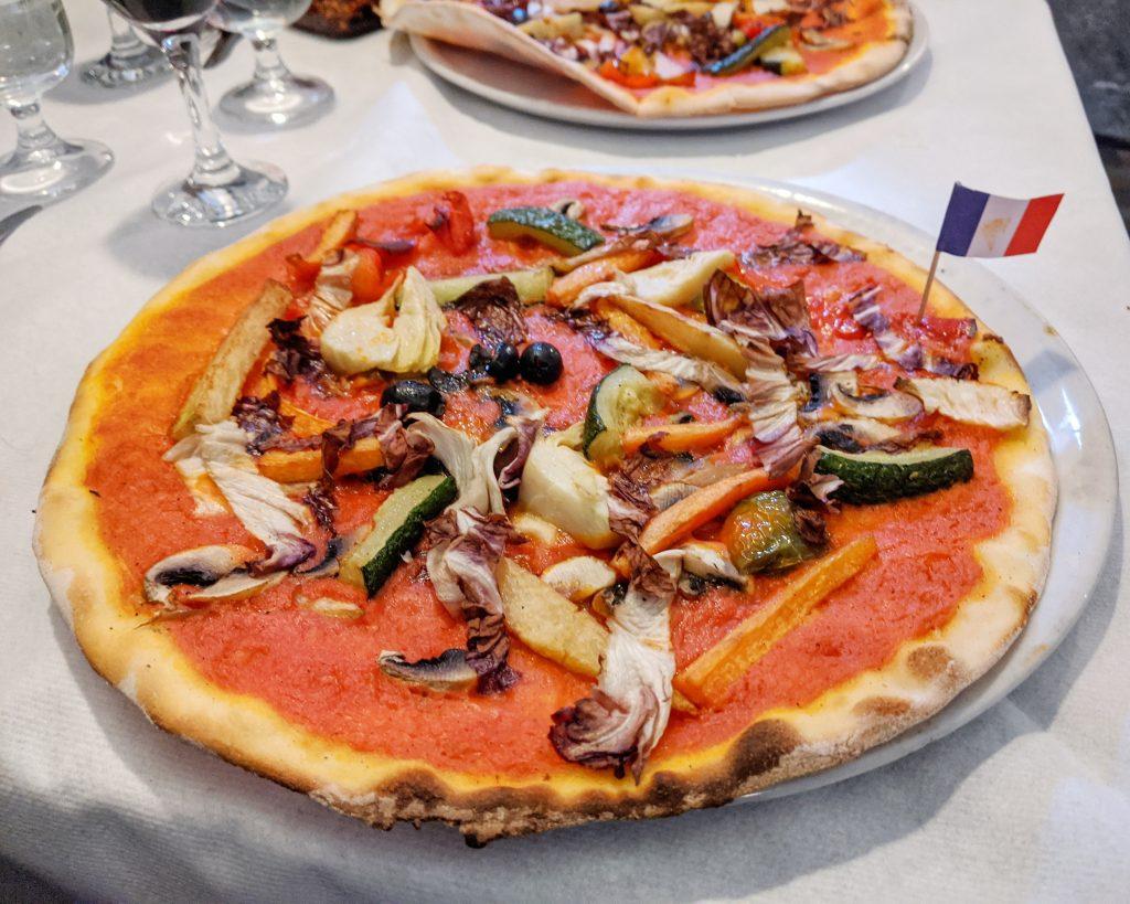 vegan gluten-free pizza Rome