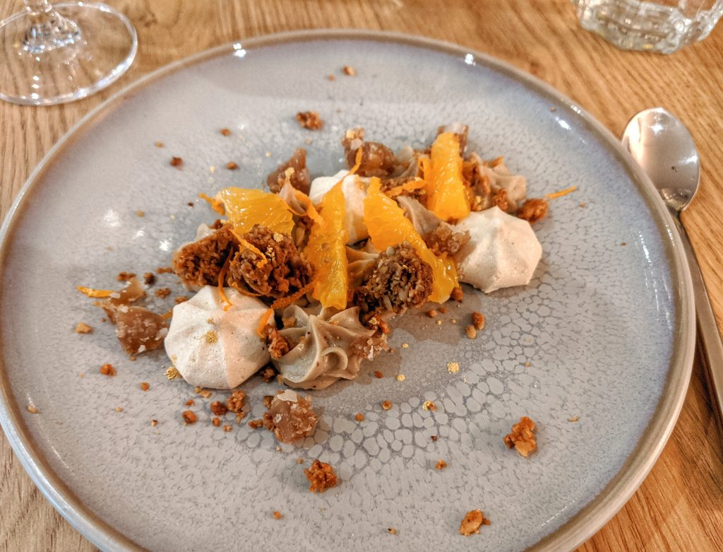 deconstructed Mont blanc vegan gluten free Paris
