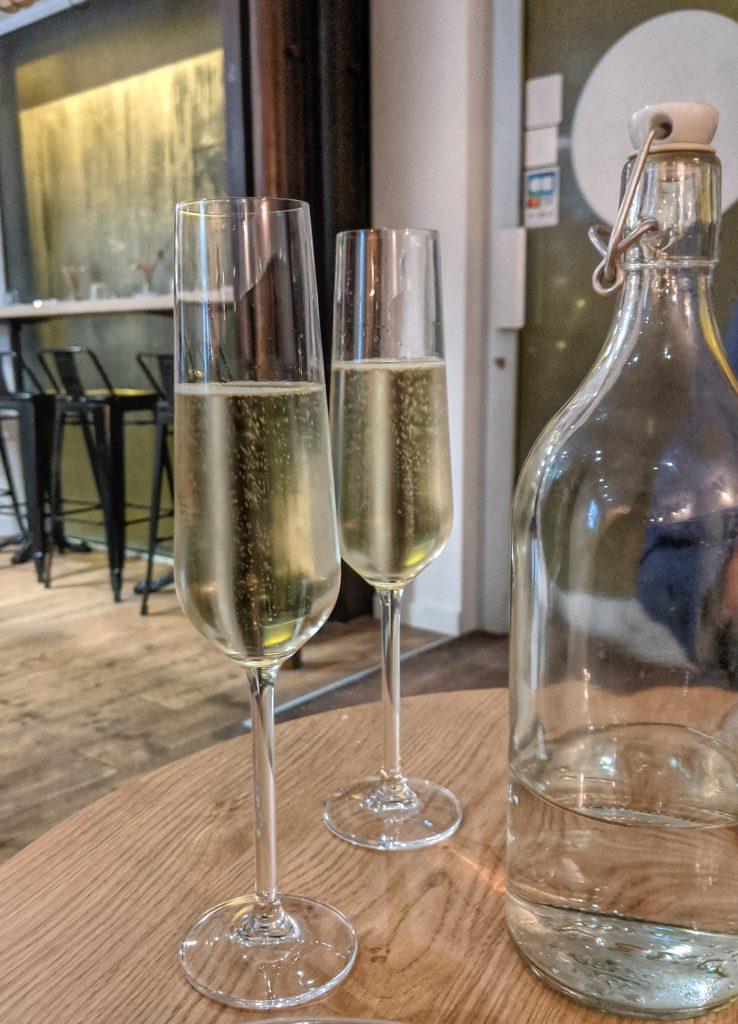 champagne vegan gluten free Paris